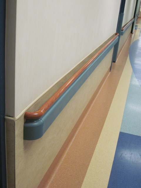 Wall Protection Amp Handrails By Antex Western Head Office